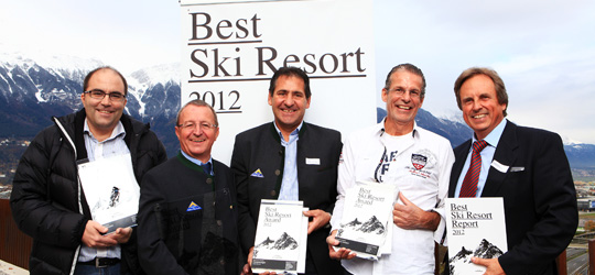 Best Ski Resort 2012 - Gewinner Gruppe