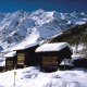 Winterlandschaft in Saas-Fee