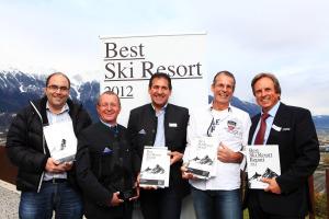 Best Ski Resort 2012 - Gewinner Gruppe (Aletsch Arena, Serfaus-Fiss-Ladis, Saas-Fee)