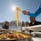 Wintersportregion Alta Badia - ein schöner Teller voll Nudeln