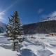 Winterlandschaft in der Ferienregion Sulden